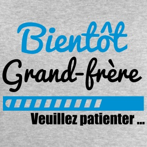 T-shirt bientôt grand frère Grand-frère - Sweat-shirt Homme Stanley & Stella