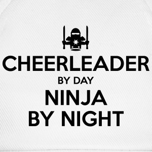 cheerleader day ninja by night - Baseball Cap