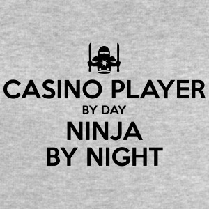 casino player day ninja by night - Men's Sweatshirt by Stanley & Stella