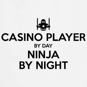casino player day ninja by night - Cooking Apron