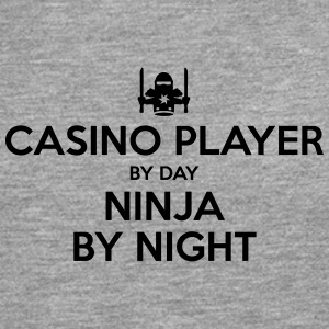 casino player day ninja by night - Men's Premium Longsleeve Shirt