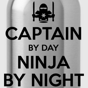 captain day ninja by night - Water Bottle
