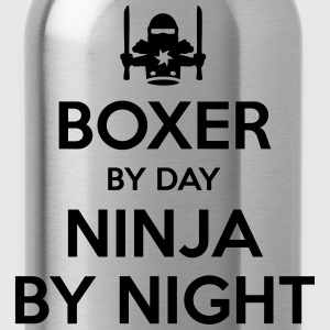 boxer day ninja by night - Water Bottle