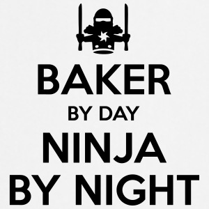 baker day ninja by night - Cooking Apron