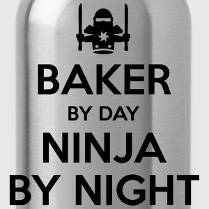 baker day ninja by night - Water Bottle