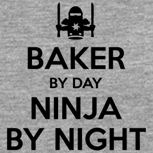 baker day ninja by night - Men's Premium Longsleeve Shirt
