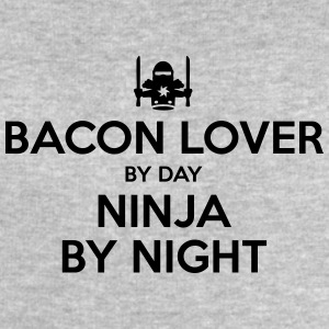 bacon lover day ninja by night - Men's Sweatshirt by Stanley & Stella