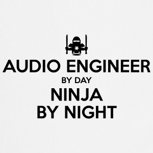 audio engineer day ninja by night - Cooking Apron