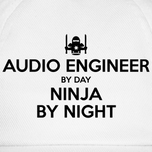 audio engineer day ninja by night - Baseball Cap
