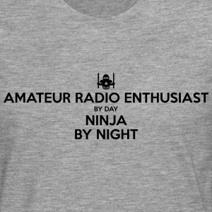amateur radio enthusiast day ninja by ni - Men's Premium Longsleeve Shirt
