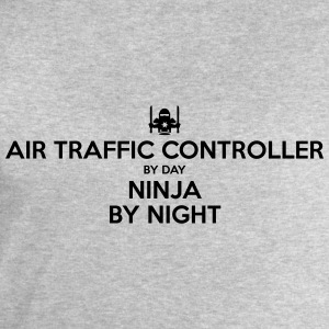 air traffic controller day ninja by nigh - Men's Sweatshirt by Stanley & Stella