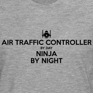 air traffic controller day ninja by nigh - Men's Premium Longsleeve Shirt