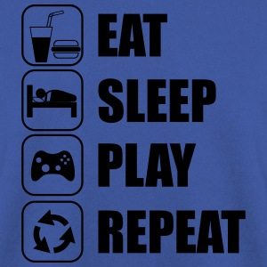 Eat,sleep,play,repeat Gamer Gaming Geek - Bluza męska