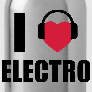 I love Electro DJ  - Drinkfles