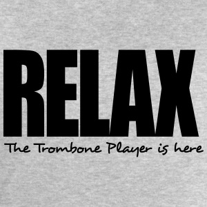 relax the trombone player is here - Men's Sweatshirt by Stanley & Stella