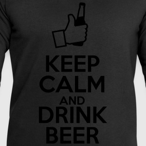 Keep calm and drink beer - Mannen sweatshirt van Stanley & Stella