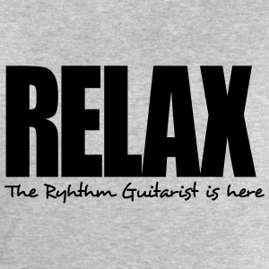 relax the ryhthm guitarist is here - Men's Sweatshirt by Stanley & Stella