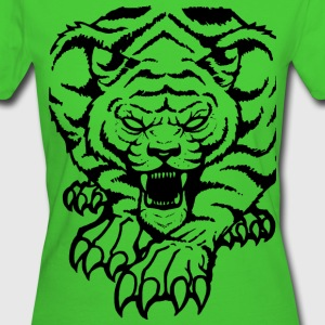 Tiger Pullover & Hoodies - Frauen Bio-T-Shirt