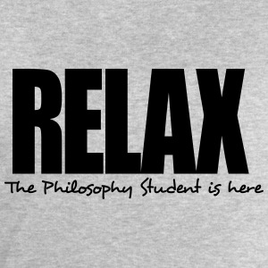 relax the philosophy student is here - Men's Sweatshirt by Stanley & Stella