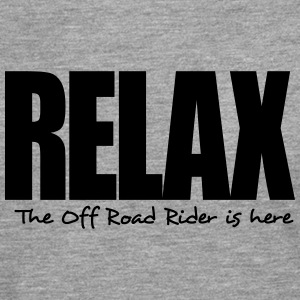 relax the off road rider is here - Men's Premium Longsleeve Shirt