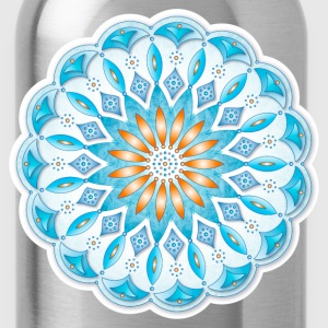Mandala 46 Ocean T-Shirts - Water Bottle