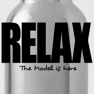 relax the model is here - Water Bottle