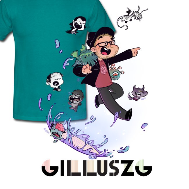 NEW GILLUSZG t-shirt homme