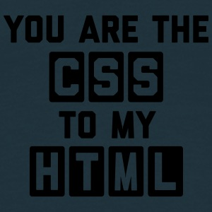 CSS To My HTML Funny Quote Caps & Mützen - Männer T-Shirt