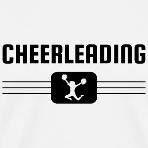 Cheerleading Cheerleader Pom Pom girl Majorette Tabliers - T-shirt Premium Homme