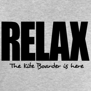 relax the kite boarder is here - Men's Sweatshirt by Stanley & Stella