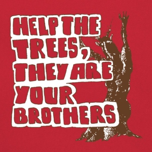 Help the trees they are your brothers - Retro Tasche