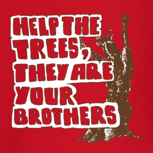 Help the trees they are your brothers - Baby Langarmshirt