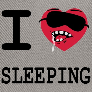 i_love_sleeping Sweat-shirts - Casquette snapback