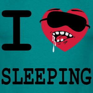 i_love_sleeping Sweat-shirts - T-shirt Homme