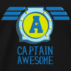 Captain awesome Captain geil self-consciously arrogant Long Sleeve Shirts - Men's Premium T-Shirt
