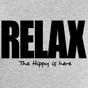 relax the hippy is here - Men's Sweatshirt by Stanley & Stella