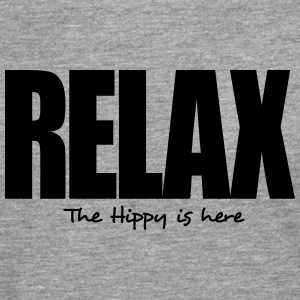 relax the hippy is here - Men's Premium Longsleeve Shirt