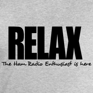 relax the ham radio enthusiast is here - Men's Sweatshirt by Stanley & Stella
