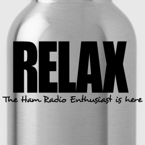 relax the ham radio enthusiast is here - Water Bottle