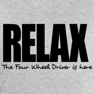 relax the four wheel driver is here - Men's Sweatshirt by Stanley & Stella
