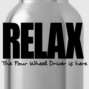 relax the four wheel driver is here - Water Bottle
