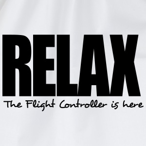 relax the flight controller is here - Drawstring Bag