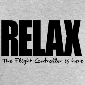 relax the flight controller is here - Men's Sweatshirt by Stanley & Stella