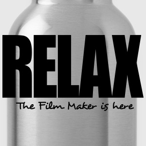 relax the film maker is here - Water Bottle