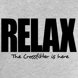 relax the crossfitter is here - Men's Sweatshirt by Stanley & Stella