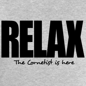 relax the cornetist is here - Men's Sweatshirt by Stanley & Stella