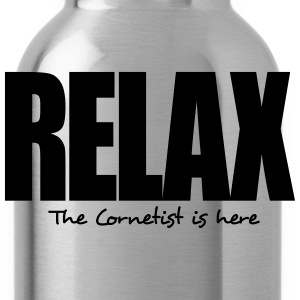 relax the cornetist is here - Water Bottle