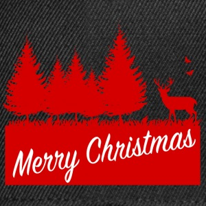 Forest merry christmas SP T-shirts - Snapback cap