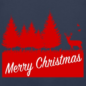 Forest merry christmas SP Pullover & Hoodies - Männer Premium Tank Top