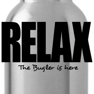 relax the bugler is here - Water Bottle